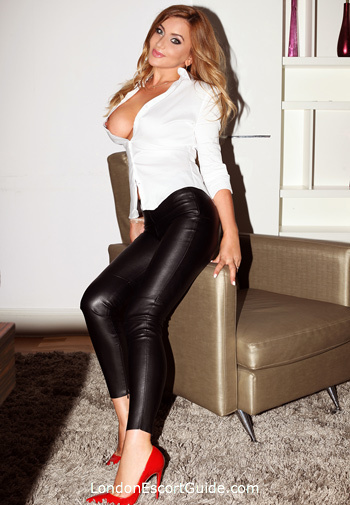 Baker Street blonde Vivian london escort