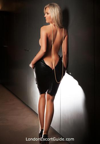 Marylebone blonde Maya london escort
