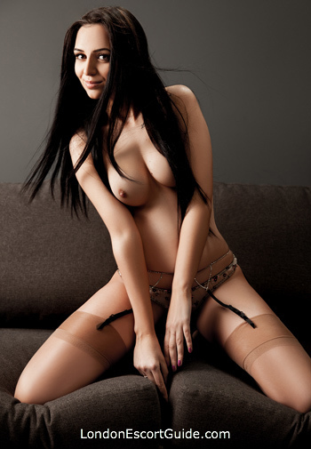 Chelsea brunette Polly london escort