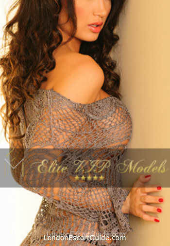 central london brunette Leva london escort