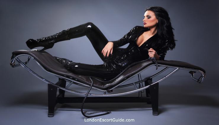 Marble Arch brunette Mistress Becca london escort