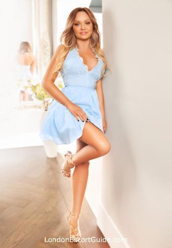 South Kensington blonde Olivette london escort