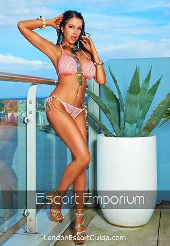 Victoria brunette Enya london escort