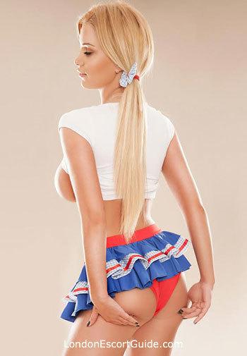 South Kensington blonde Chloe london escort