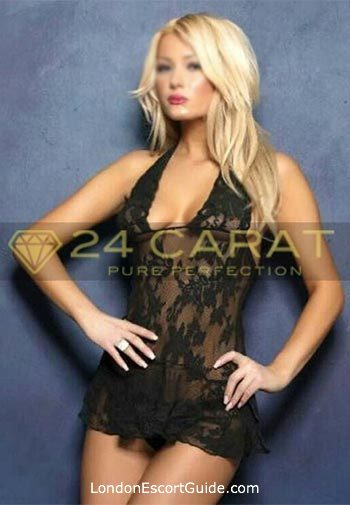 Outcall Only blonde Pink london escort