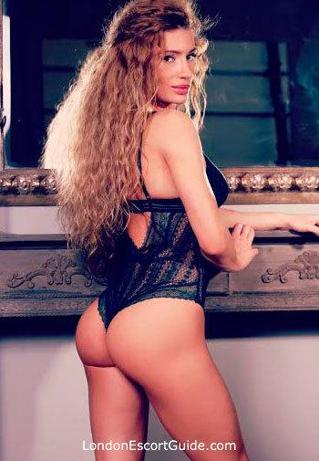 South Kensington brunette Sevda london escort