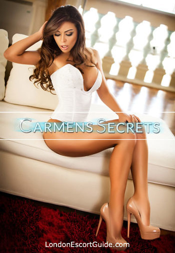 Chelsea brunette Ellen london escort