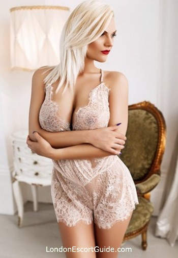South Kensington blonde Larissa london escort