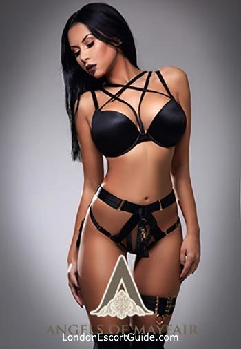 Kensington Olympia latin Caprice london escort