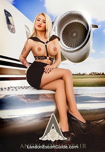 Kensington Olympia blonde Maya london escort