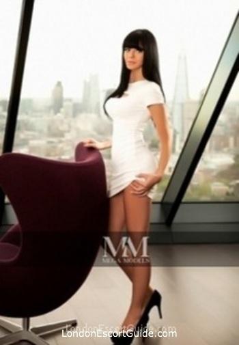 Chelsea brunette Anabella london escort
