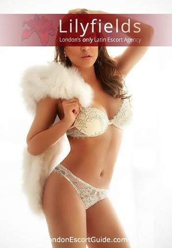 South Kensington brunette Magnolia london escort