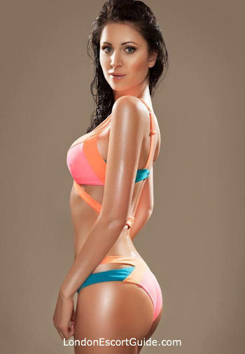 South Kensington brunette Annabel london escort
