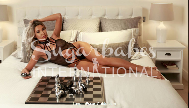 Kensington blonde Josephine london escort
