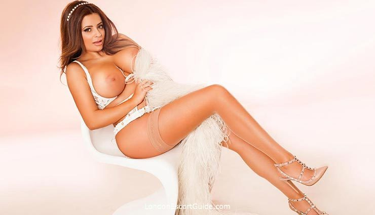 South Kensington latin Bianca london escort