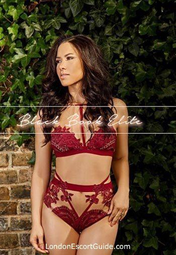Kensington brunette Elise london escort
