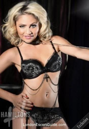 Kensington blonde Clara london escort