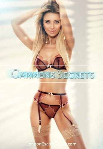 South Kensington east-european Georgina london escort