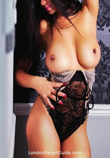 Chelsea brunette Ruby london escort