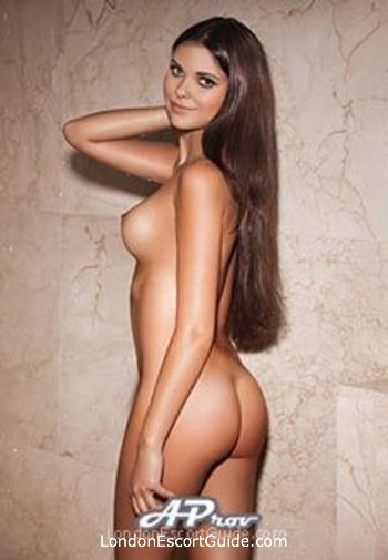 Baker Street brunette Katy london escort