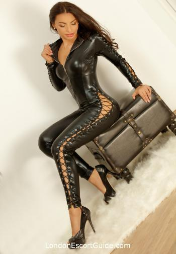South Kensington brunette Mistress Mallorca london escort