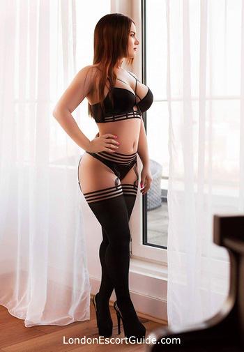 Marylebone brunette Alberta london escort