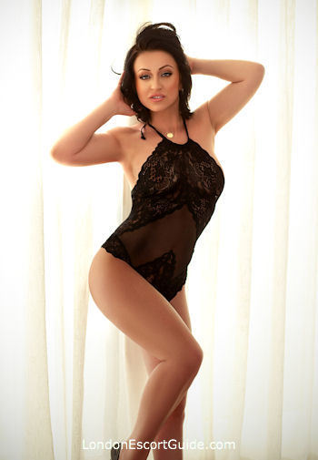Knightsbridge east-european Azzura london escort