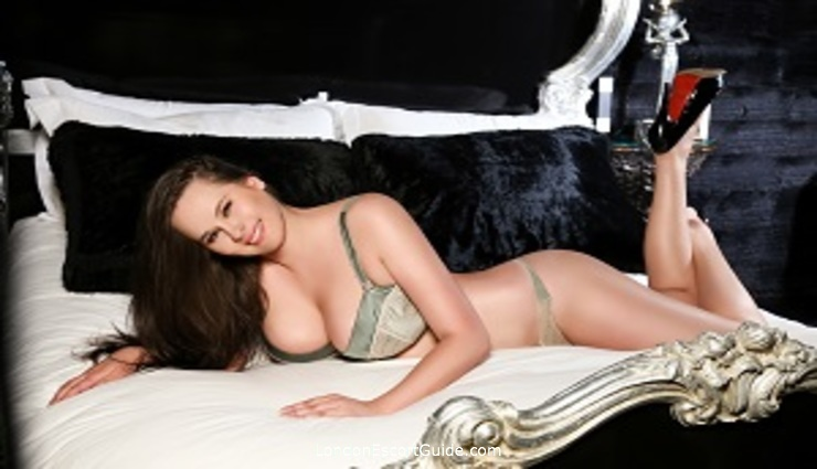 Chelsea brunette Inga london escort