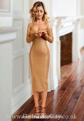 Notting Hill blonde Hazel london escort