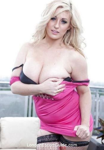 The City blonde Ashley Downs london escort