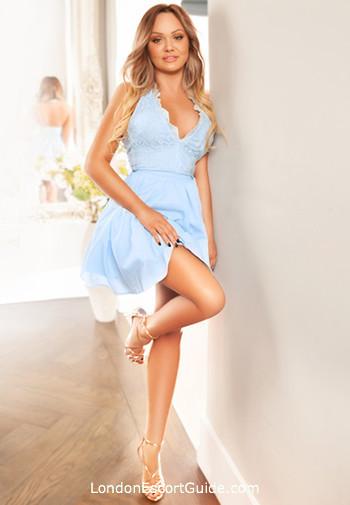 South Kensington blonde Lolita london escort