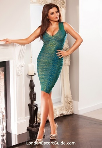 South Kensington brunette Benita london escort