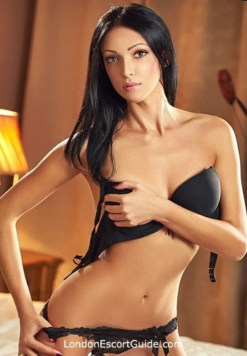 South Kensington brunette Adelly london escort