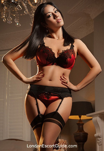 Bayswater brunette Veena london escort