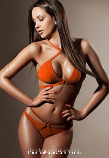 South Kensington brunette Rosalia london escort
