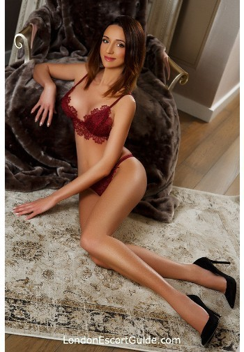 Bayswater brunette Ingrid london escort