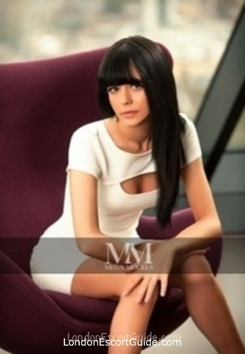 Chelsea brunette Anabella london escort
