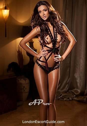 South Kensington brunette Athina london escort