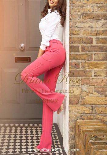 Marylebone brunette Diana london escort