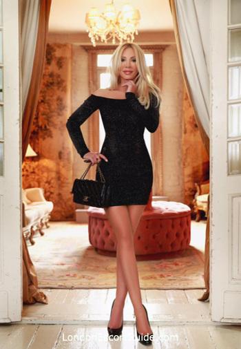 South Kensington blonde Korrina london escort