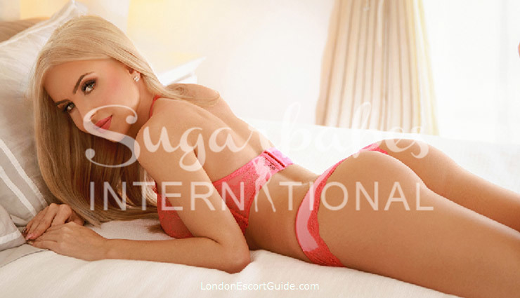 Edgware Road blonde Nessy london escort