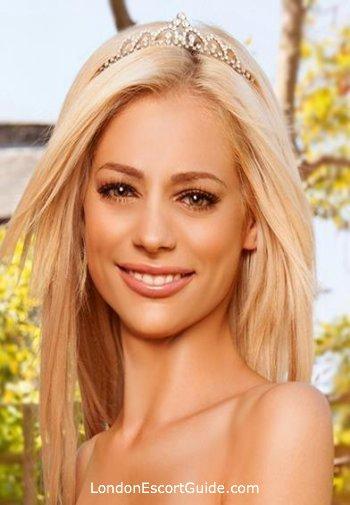 Chelsea blonde Ana london escort