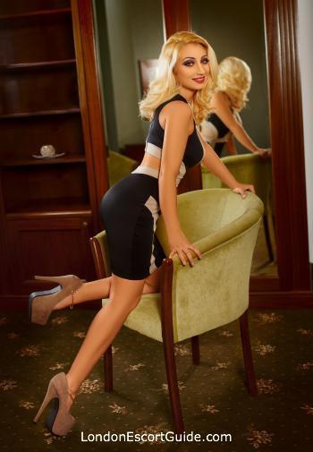 Paddington blonde Zephyra london escort