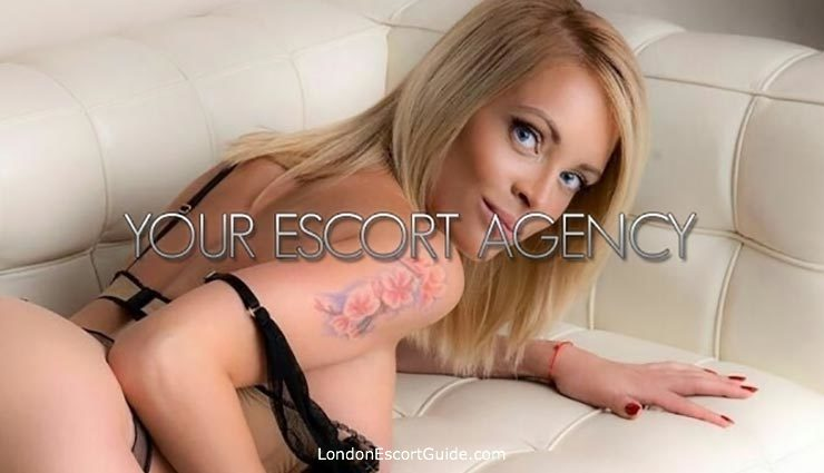 Knightsbridge blonde Greta london escort