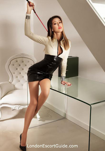 Marylebone pvc-latex Lola Paloma london escort