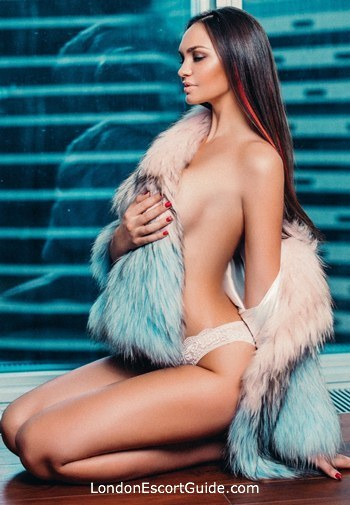 South Kensington brunette Katerina london escort