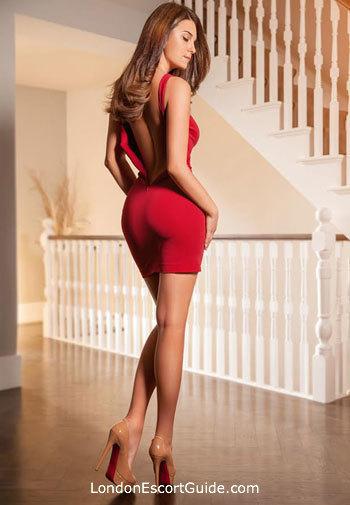 Earls Court brunette Avalyn london escort