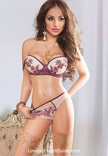 Knightsbridge elite Alessandra london escort