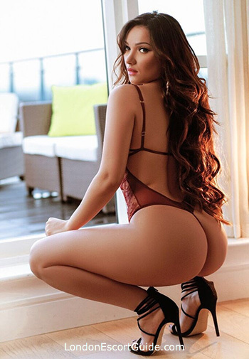Knightsbridge brunette Cate london escort