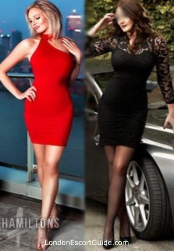Central London Kate & Nikki london escort